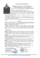 arrêté d'enquête publique : modification de tracé d'un chemin rural Montée des Rameaux au droit de la propriété de M. Emmanuel Garrivier et Mme Christelle DELAMARE