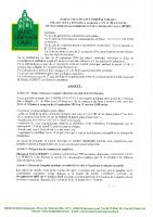 Arrêté prescrivant enquête publique-révision «allégée» n°1 du PLU