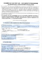 Examen au cas par cas PLU Rév n°2