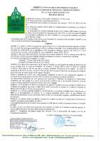 Arrêté d'ouverture Enquête Publique relative au Projet de cession du terrain d'emprise de la chaufferie collective Rue Jean Boyer