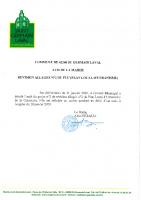 Avis Mairie Révision Allégée 2 PLU