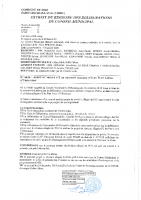 DELCM-08-20 Arrêt du projet n°2 de révision allégée n°2 du PLU