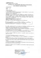 Arrêté de mise en oeuvre de la modification simplifiée du PLU