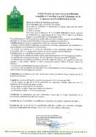 délibération 58/2020 autorisant le Maire à prescrire la modification simplifiée n°1